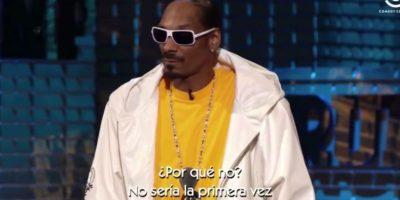 Zasca épico a Donald Trump: Snoop Dogg se burla del magnate en su cara