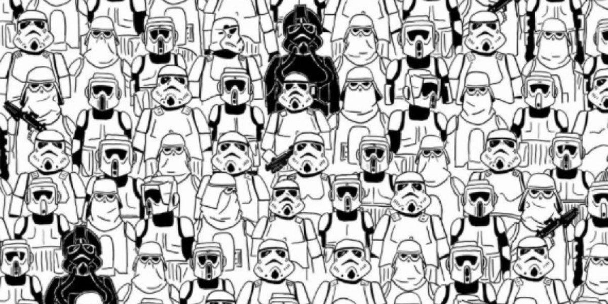 Desafío Star Wars: ¿Ves al Panda escondido entre los Stormtroopers?