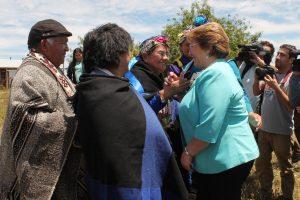 El viaje de la Presidenta Bachelet a La Araucanía este martes Foto:Agencia Uno. Imagen Por:
