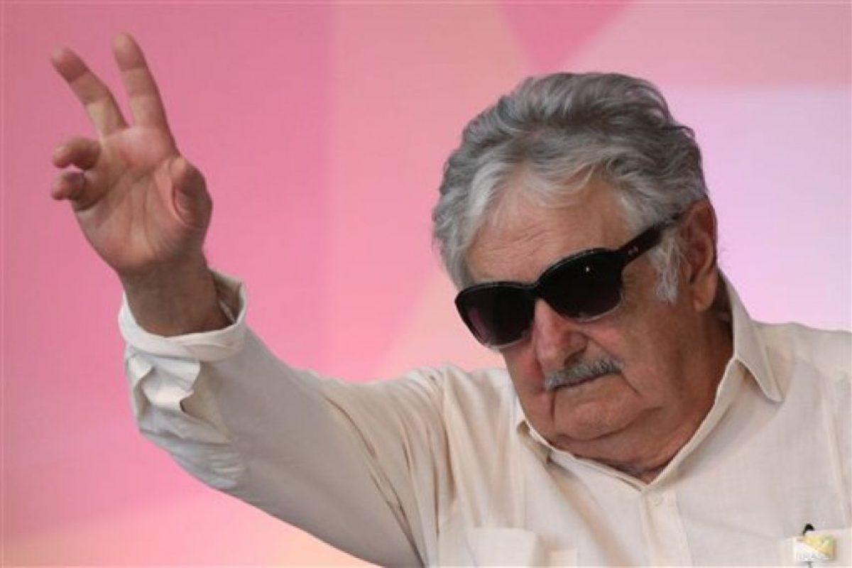 Desde 2005 está casado con la senadora y dirigente histórica del Movimiento de Participación Popular, Lucía Topolansky. Foto:AP. Imagen Por: