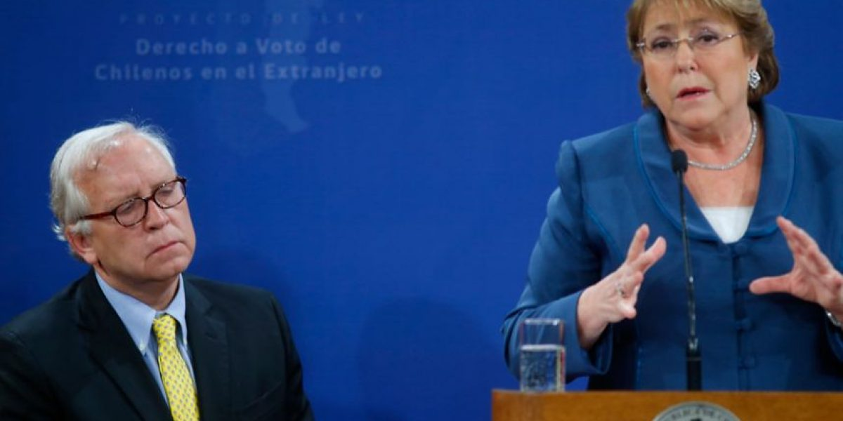"""Ministro Burgos y visita de Bachelet a La Araucanía: """"No supe del viaje"""""""