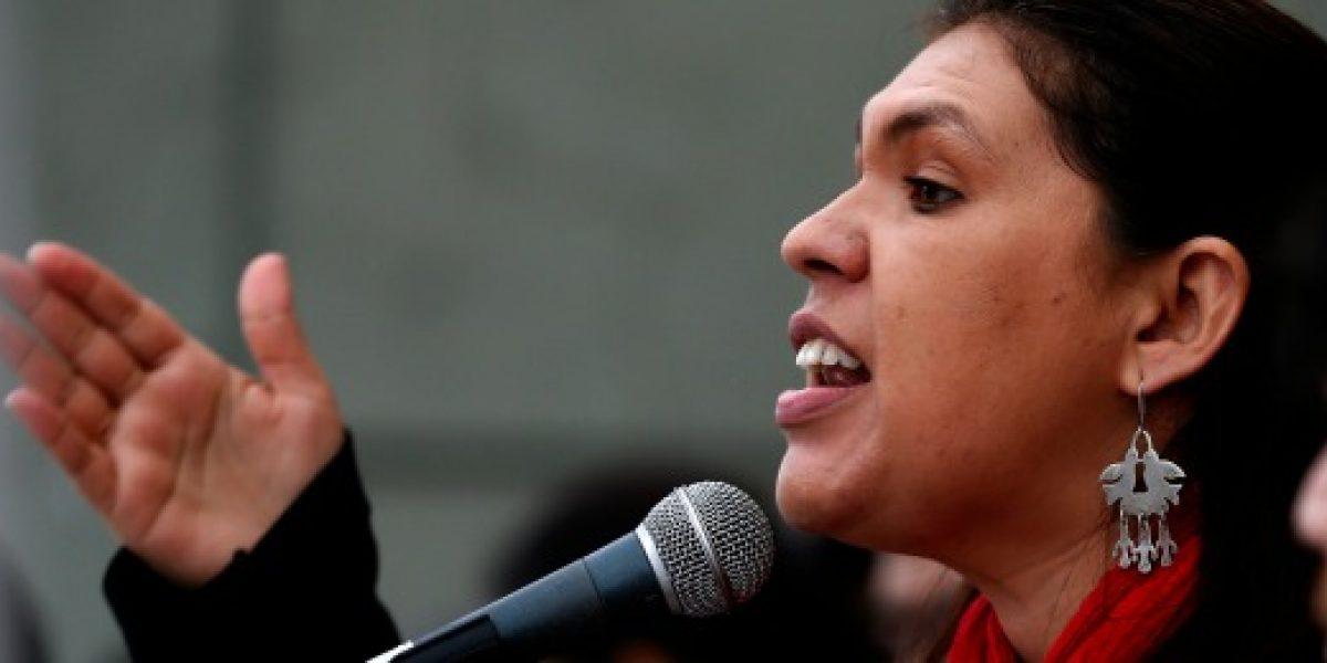 Presidenta de la CUT acusó
