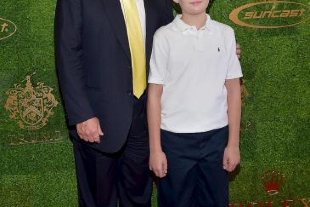 Barron Trump Foto:Getty Image. Imagen Por: