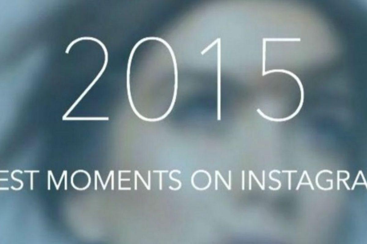 Ya pueden crear su video con sus fotos más populares del 2015. Foto:IntaTrack App. Imagen Por: