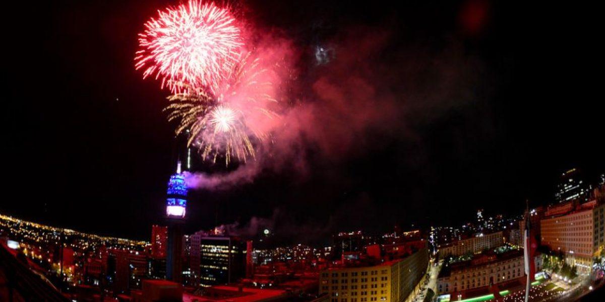 La polémica tras la clásica celebración de Año Nuevo en la Torre Entel
