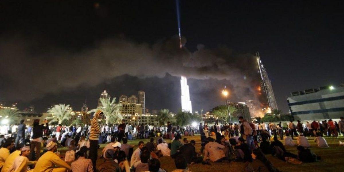 En HD: las postales que dejó incendio en rascacielos de Dubai en Año Nuevo