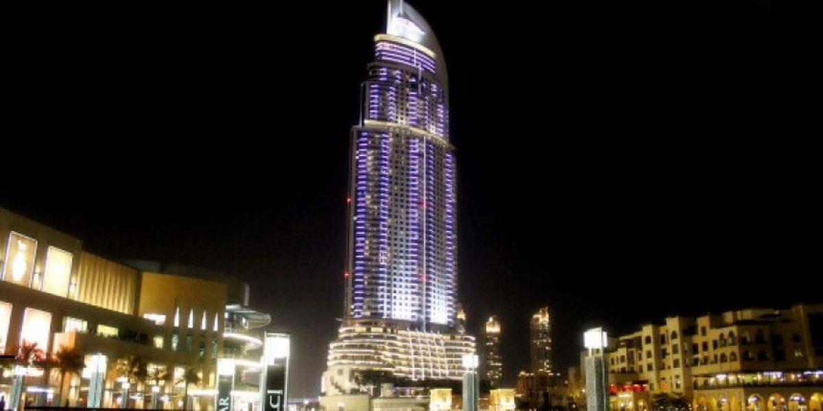 Así era el hotel de Dubai consumido por incendio a horas de Año Nuevo