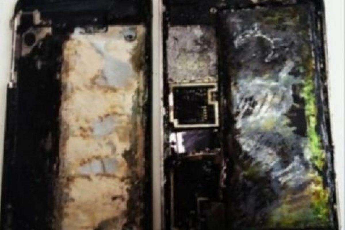5) iPhones incendiados. Foto:vía Tumblr.com. Imagen Por: