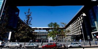 Controlan amago de incendio en el Centro de Justicia de Santiago