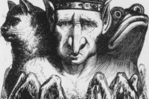 """El """"Diccionario Infernal"""" de 1811 ilustró a 69 demonios. Destacan criaturas como Astaroth (primer Duque del Infierno) o Moloch. Foto:Tumblr. Imagen Por:"""