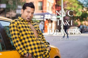 Otros calendarios singulares: Doce conductores de taxi modelaron para este divertido calendario. Foto:Vía nyctaxicalendar.com. Imagen Por:
