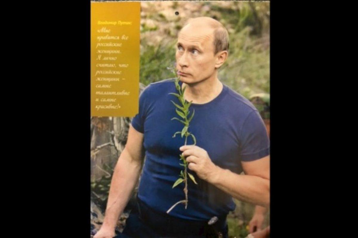 Un calendario de edición limitada se publicó en Rusia Foto:Vía Zvezdi me Soveti. Imagen Por: