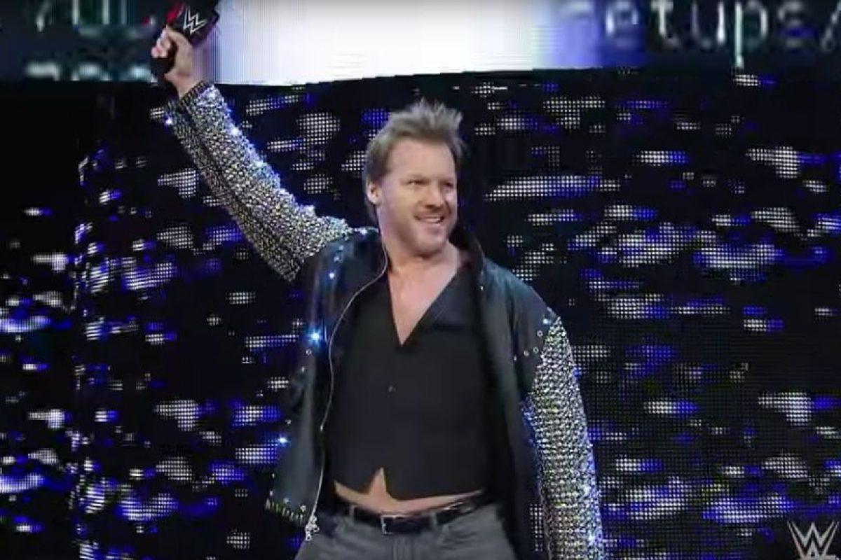 Chris Jericho es un luchador profesional que también es actor, presentador de televisión y cantante de rock. Foto:WWE. Imagen Por: