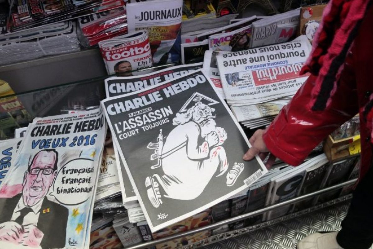 Charlie Hebdo, cuyo humor provocador y a veces vulgar, ha tocado a todos los credos religiosos, las corrientes políticas e incluso el tabú de la muerte, publicará este miércoles una edición conmemorativa. Foto:AFP. Imagen Por: