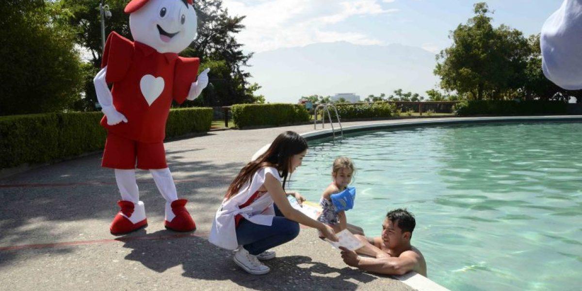 Teletón llama a prevenir accidentes en playas y piscinas