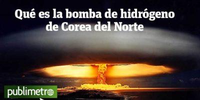 Infografía: qué es la bomba de hidrógeno de Corea del Norte