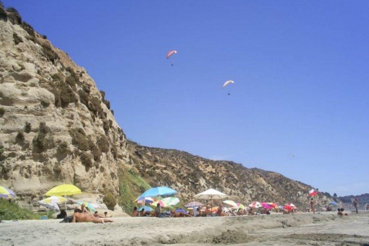 Foto:Sitio Web Nudismo Chile. Imagen Por: