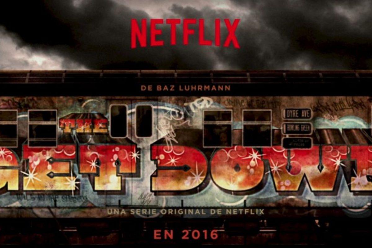 """""""The Get Down"""" cuenta la historia de una banda de adolescentes del sur del Bronx. Foto:Netflix. Imagen Por:"""