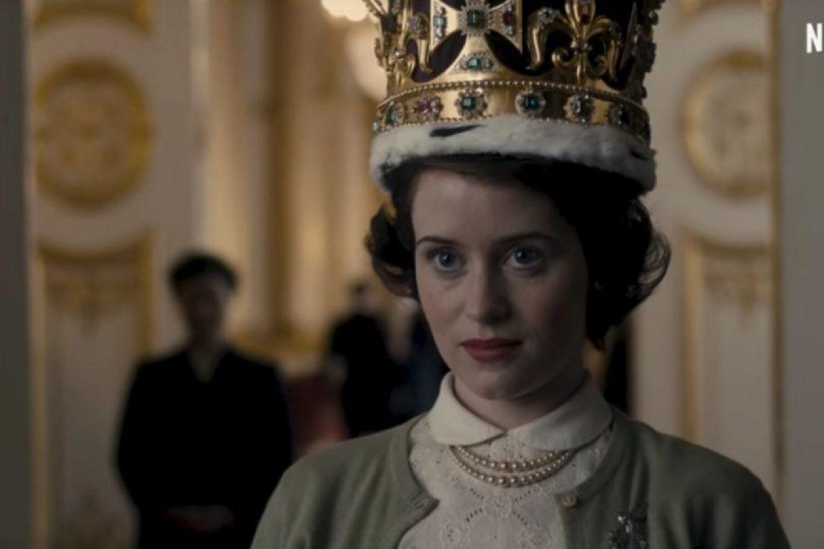"""""""The Crown"""" abunda sobre el reinado de la reina Isabel II. Foto:Netflix. Imagen Por:"""