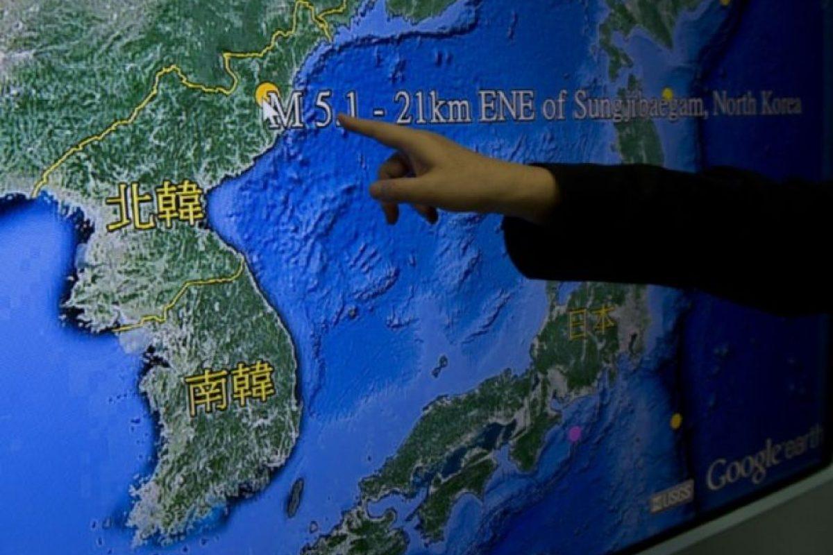 """""""No creo que fuera un test de bomba de hidrógeno. La explosión tendría que haber sido mayor si hubiese sido el caso"""", reaccionó Choi Kang, vicepresidente del Instituto Asan de Estudios Políticos de Seúl. Foto:AFP. Imagen Por:"""