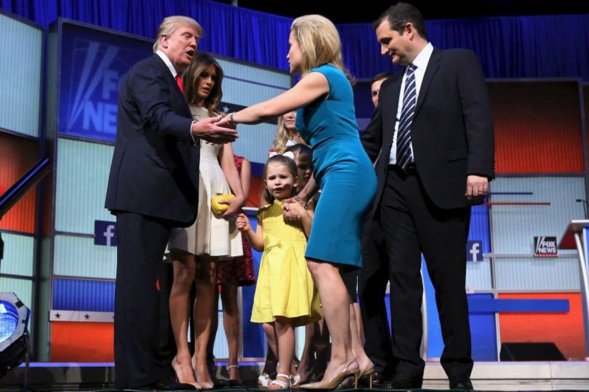 También ha expresado sus deseos de que los mexicanos sean expulsados de Estados Unidos. Foto:Getty Images. Imagen Por: