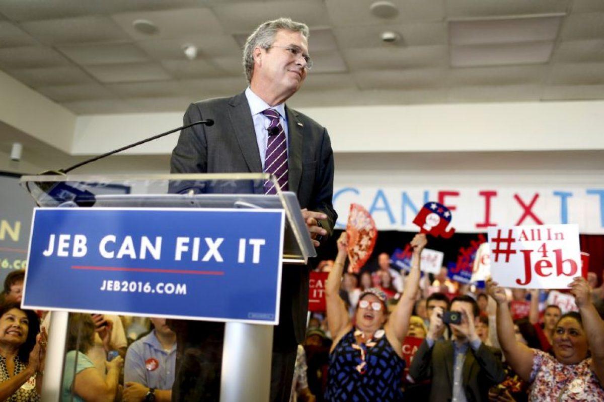 La candidatura de Jeb Bush, en declive desde el inicio Foto:Getty Images. Imagen Por:
