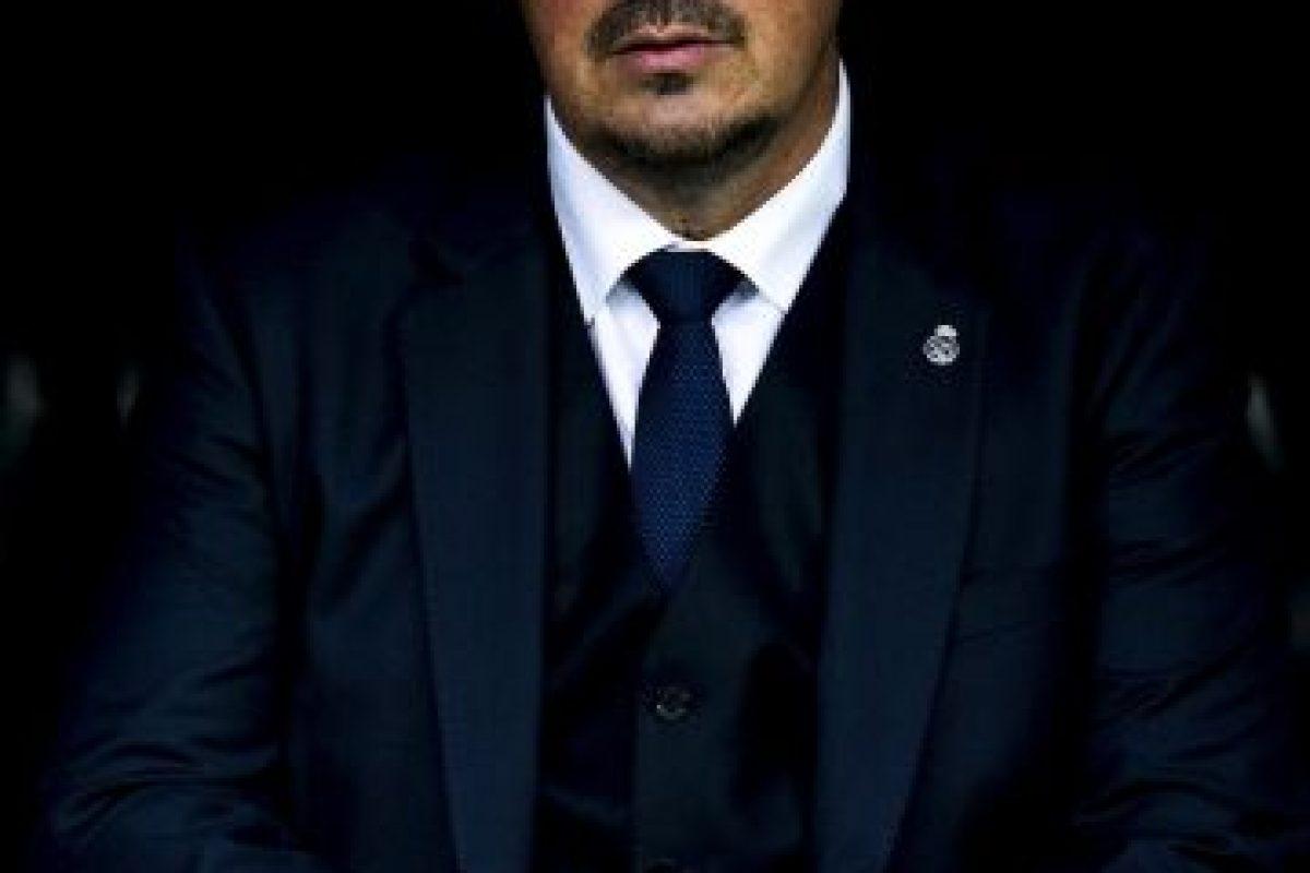 """Llegó en lugar de Carlo Ancelotti en junio de 2015 y firmó hasta 2018 pero apenas si llegó a 2016. El DT español nunca terminó de convencer en la cancha y además, se habló de una mala relación con los jugadores, lo que terminó """"cavando su tumba"""". Benítez fue despedido este 4 de enero y llegó en su lugar Zinedine Zidane. Foto:Getty Images. Imagen Por:"""