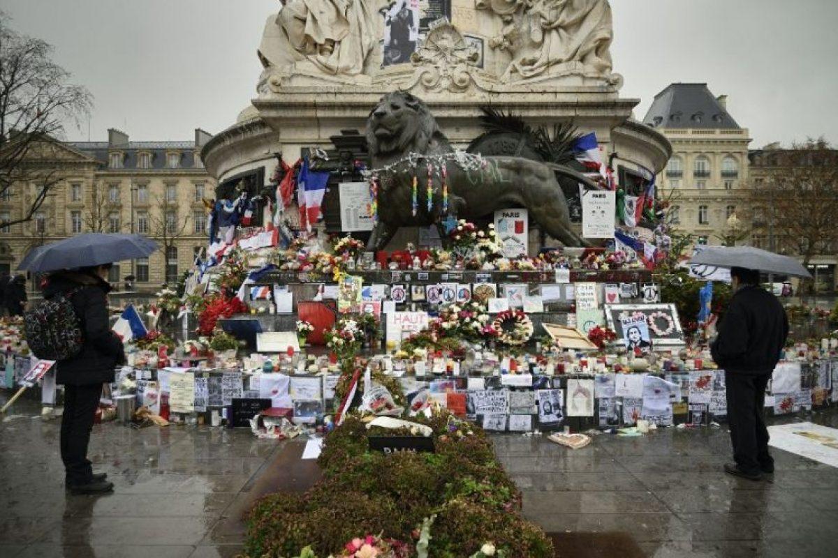 Así como en monumentos histórico s Foto:AFP. Imagen Por: