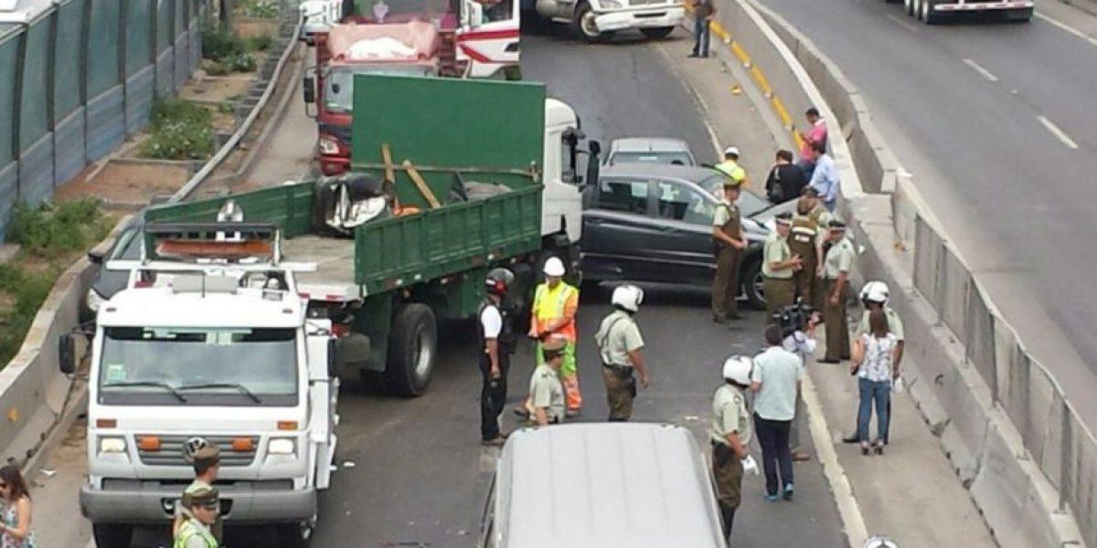 Accidente en General Velásquez: colisión múltiple involucró a 19 vehículos
