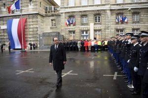 Sucedió a un año exacto del atentado al semanario Charlie Hebdo Foto:AP. Imagen Por: