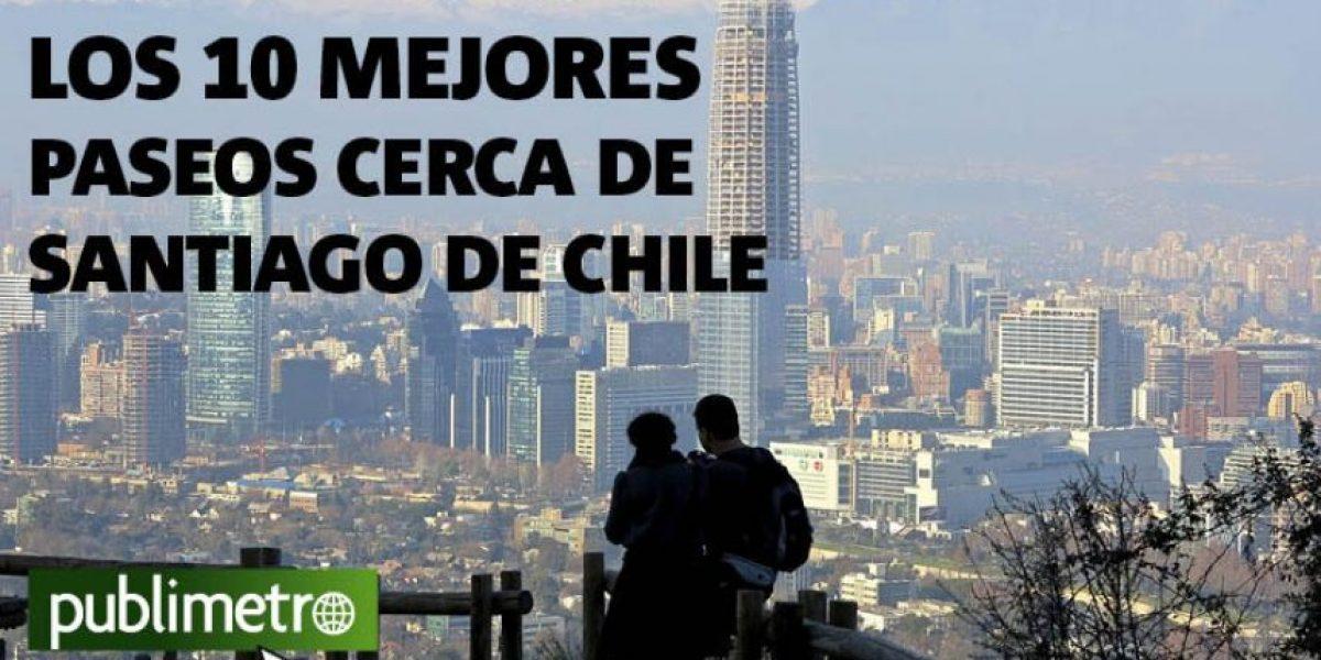 Infograf a los 10 mejores paseos cerca de santiago de for Marmolerias en santiago de chile