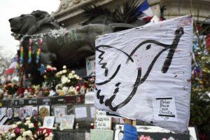 Así se veían las calles de París a un año del ataque a Charlie Hebdo. Foto:AFP. Imagen Por: