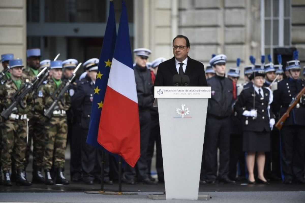 El presidente de Francia, François Hollande. Foto:AFP. Imagen Por: