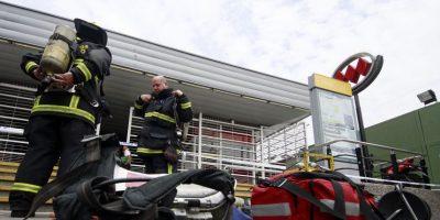 Joyero causó emergencia química en la estación Franklin del Metro