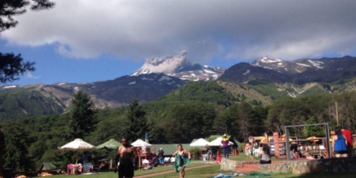 Alerta en complejo Nevados de Chillán por intensa fumarola