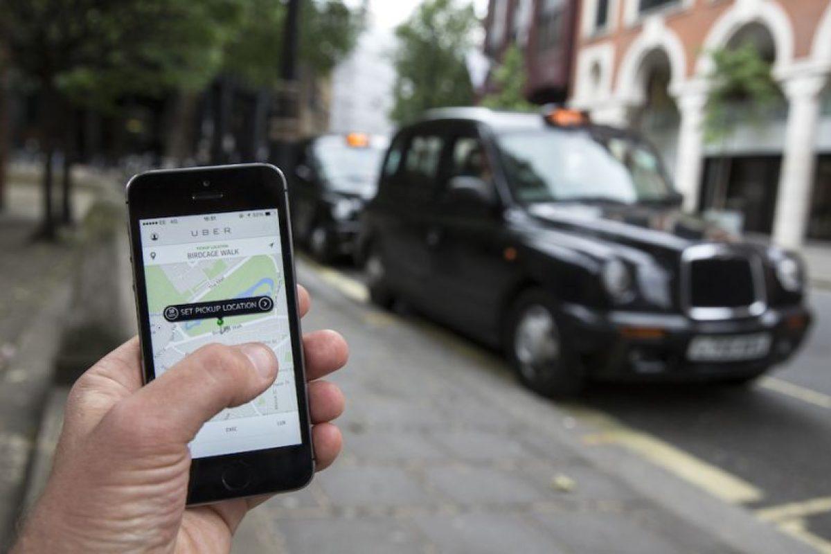 la tecnología de Uber les permite contactar al socio-conductor sin proporcionar información personal y viceversa. Foto:Getty Images. Imagen Por: