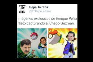 """Quizás los mexicanos son los que más se burlan de la recaptura de uno de los narcos más buscados de su país y el mundo, el """"Chapo"""" Guzmán. Foto:vía Twitter. Imagen Por:"""