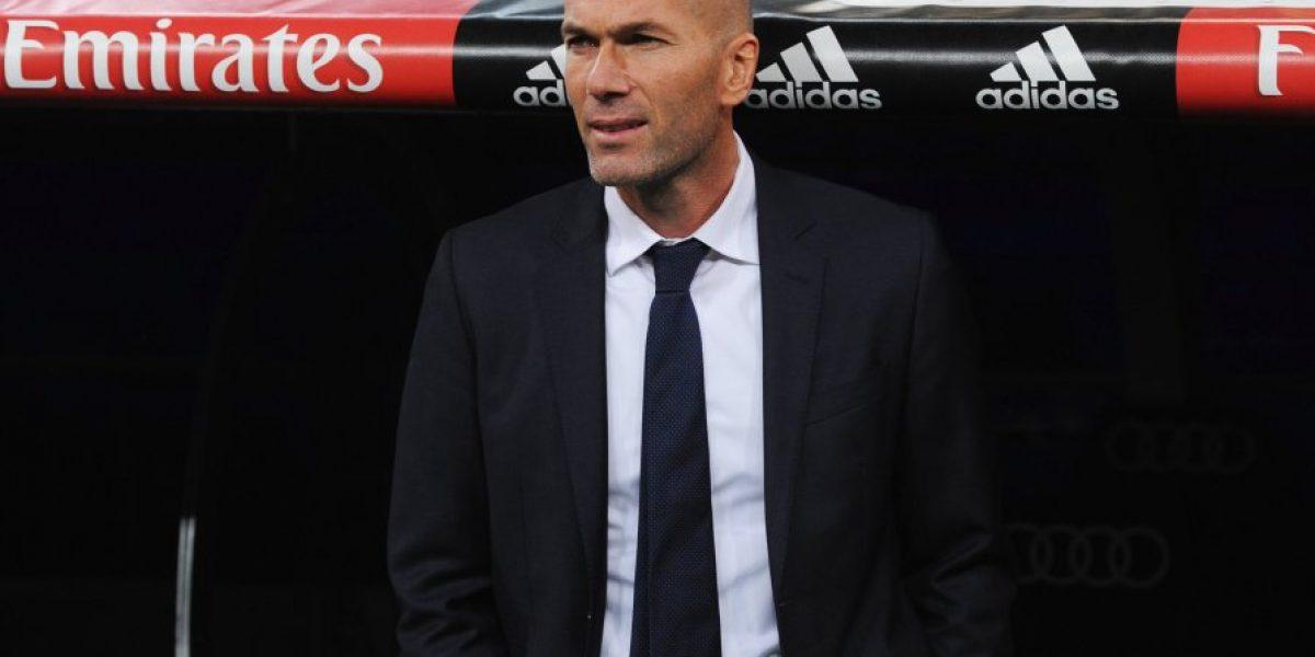 Así vivió Zinedine Zidane su primer partido como entrenador del Real Madrid