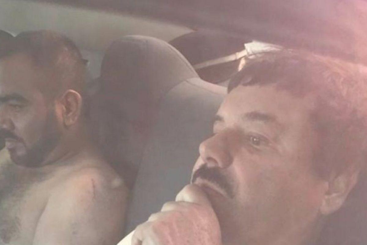 """""""El Chapo"""" Guzmán no cayó solo. Lo hizo junto con su jefe de sicarios, """"El Cholo"""" Iván. Foto:vía Twitter. Imagen Por:"""