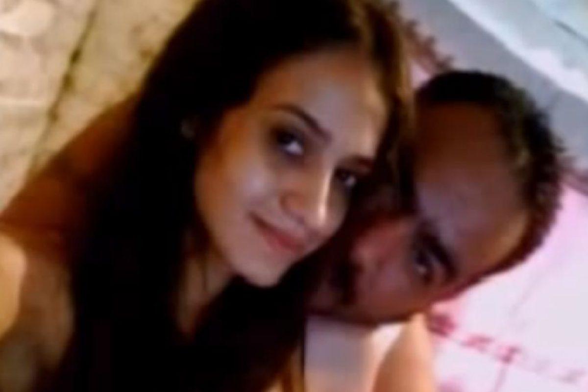 Así se les vió alguna vez. Ella nunca habló de su relación. Foto:El Blog del Narco.. Imagen Por: