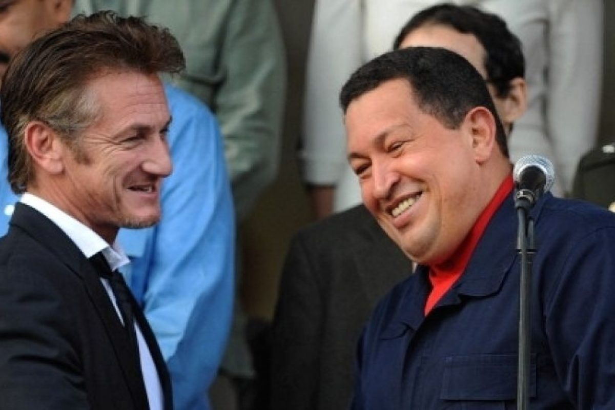 """""""Esperaba encontrar una gran Venezuela y la he encontrado. He venido como periodista y estoy todavía digiriendo las cosas que he visto y aprendido en este viaje"""", declaró el actor durante su viaje. Foto:AFP. Imagen Por:"""