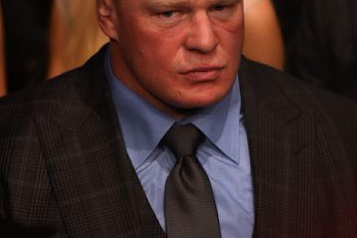 1. Brock Lesnar Foto:Getty Images. Imagen Por: