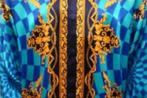 Se rumorea de que es Versace. Foto:vía Versace. Imagen Por: