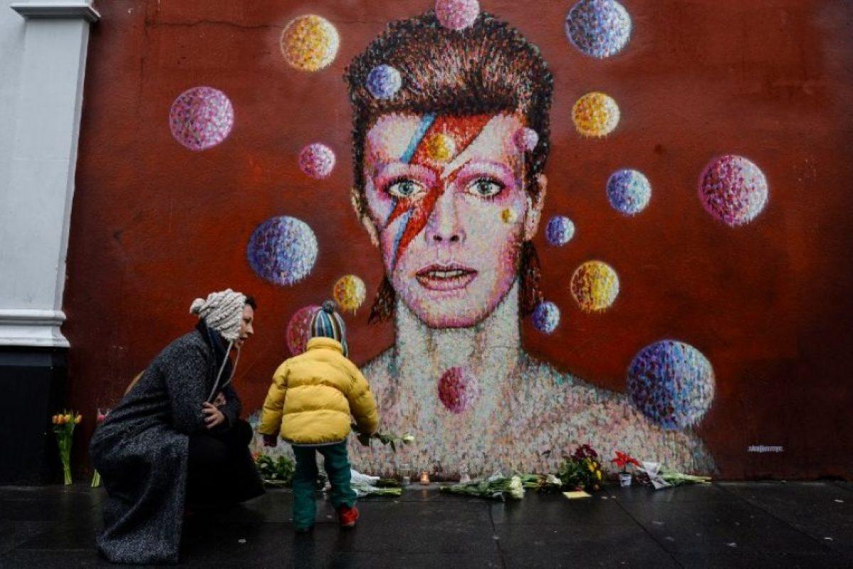 David Bowie falleció tras una batalla de 18 meses contra el cáncer. Foto:AFP. Imagen Por: