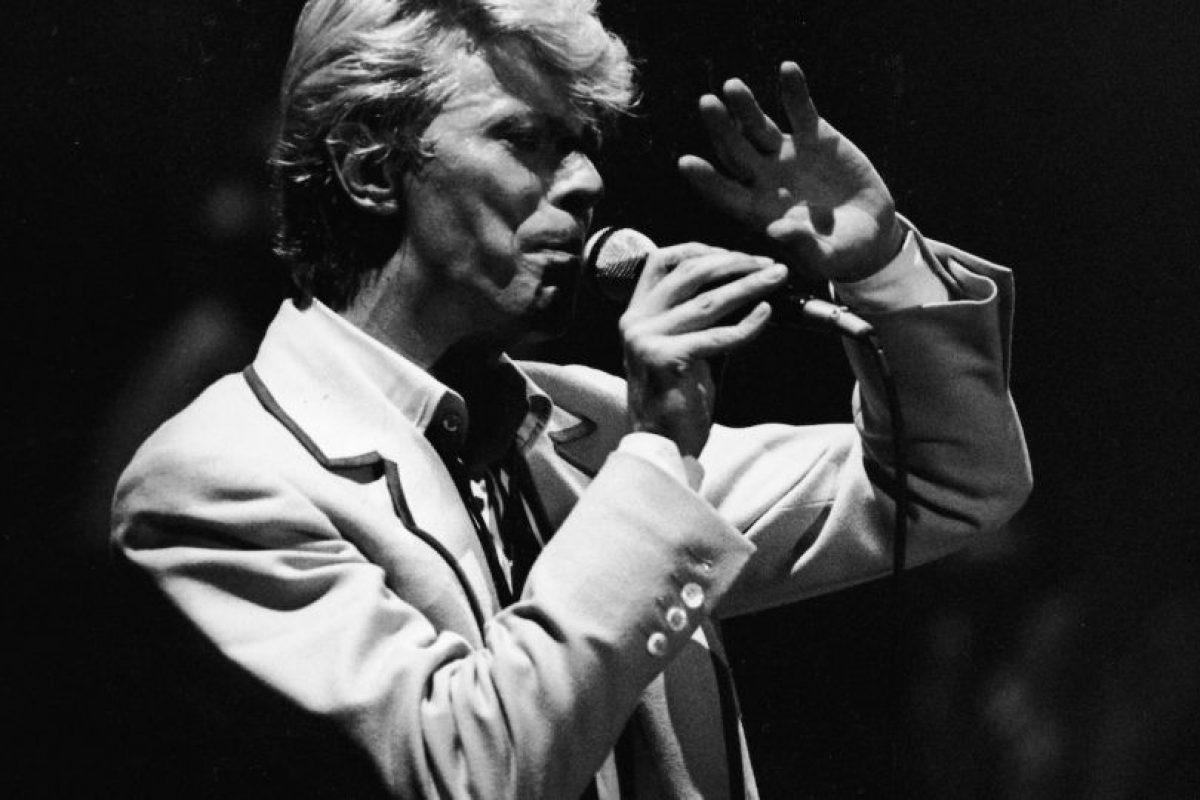 """""""Ziggy Stardust"""" es la historia de un alien de ambigua sexualidad y ansias de rock star, introductor y protagonista de la sensual y galáctica materia con destino apocalíptico. Foto:Getty Images. Imagen Por:"""