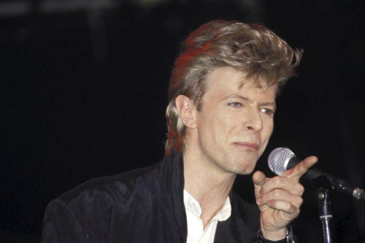 """7. """"Under pressure"""" fue una colaboración con Queen, posiblemente el mejor dueto de la historia de la música. Foto:Getty Images. Imagen Por:"""