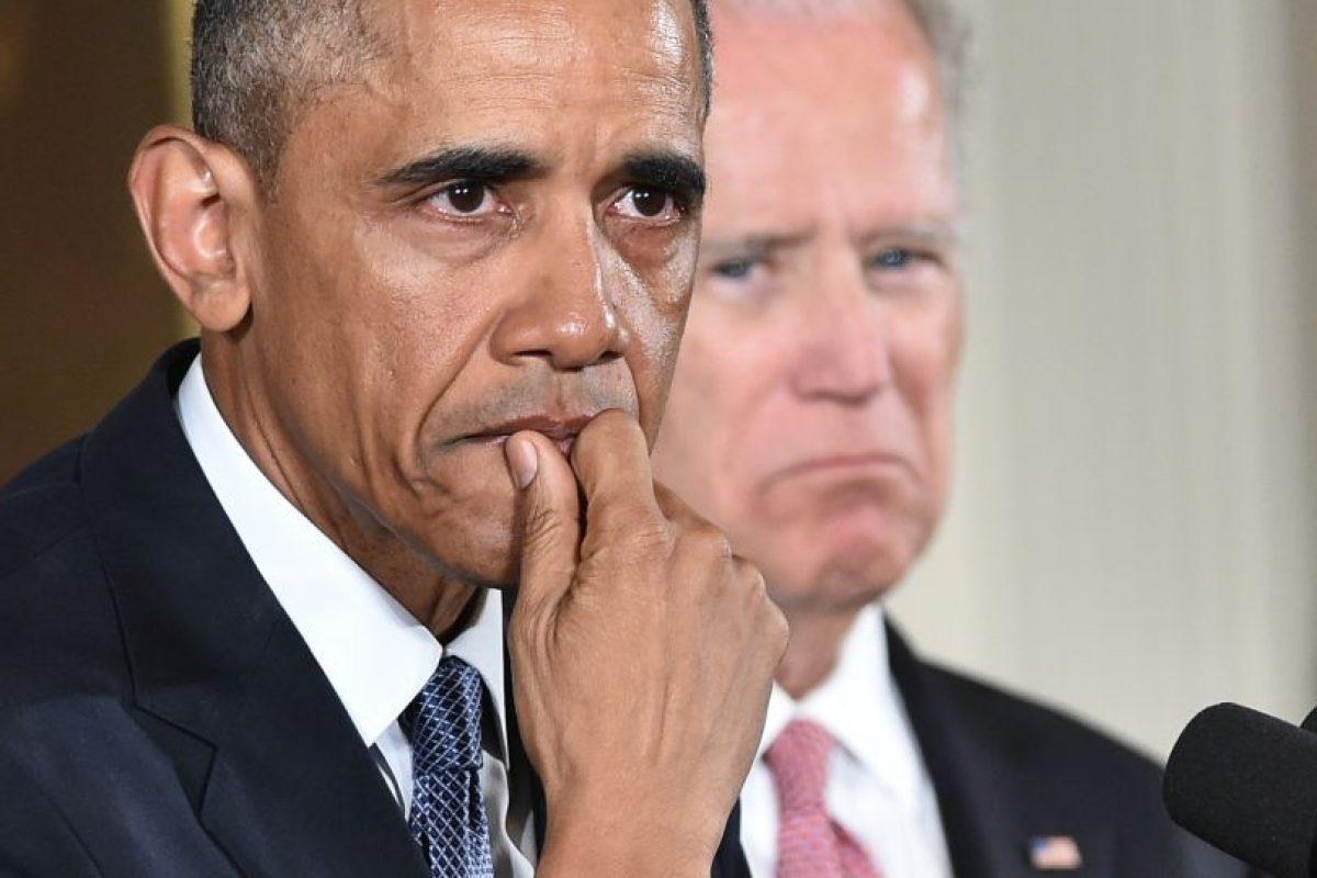Obama se vio muy conmocionado por las víctimas de armas de fuego en Estados Unidos, en particular con el último caso. Pretende endurecer las políticas de acceso ciudadano a ellas. Foto:Efe. Imagen Por: