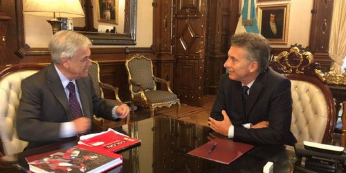 Gobierno se pronuncia por visita de Piñera a Macri donde abordaron demanda marítima