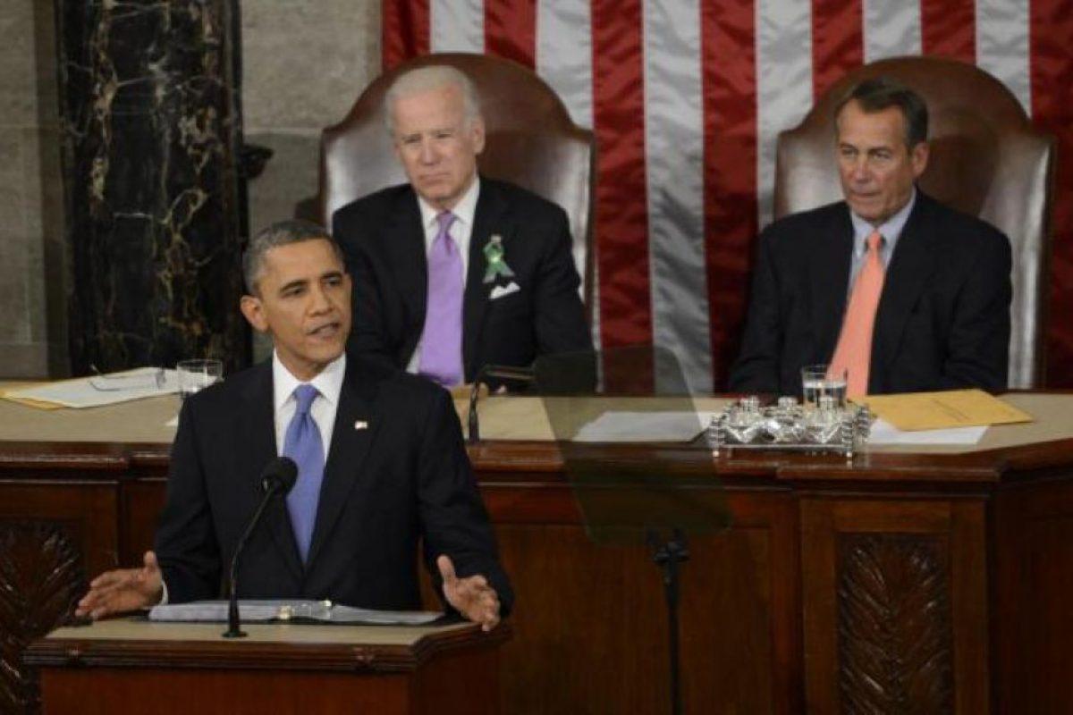 Barack Obama, durante uno de sus discursos a la nación. Foto:AFP. Imagen Por: