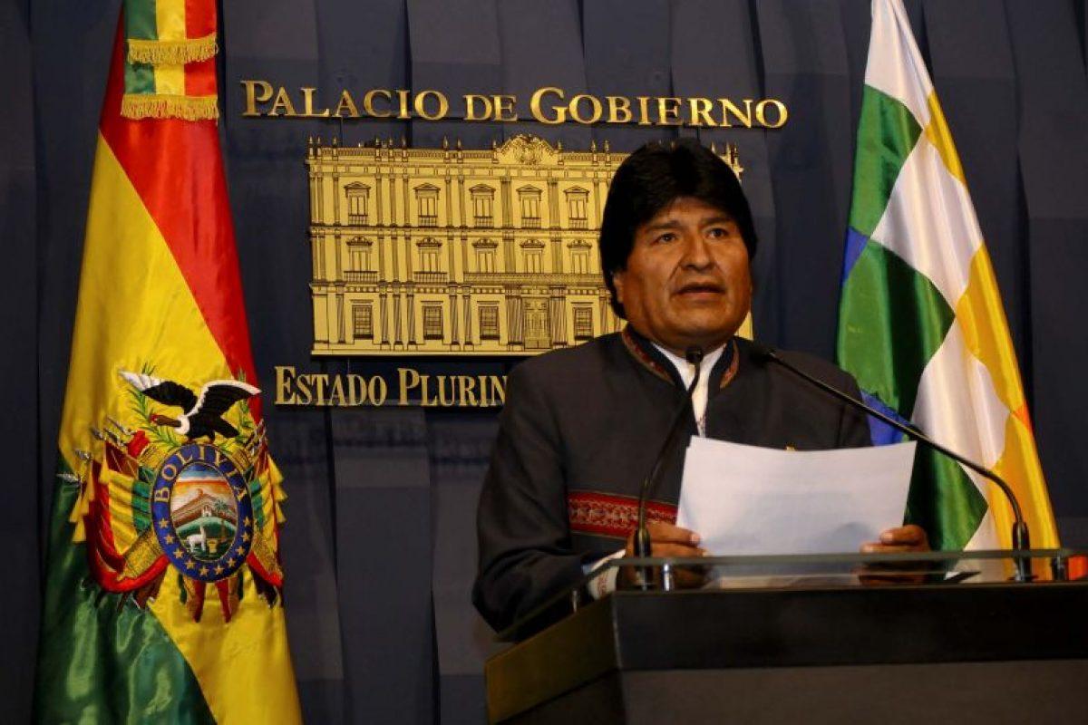 Evo Morales Foto:Agencia UNO. Imagen Por: